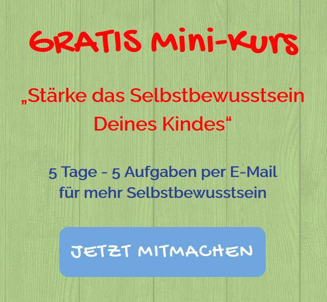 GRATIS Mini-Kurs Anmeldung